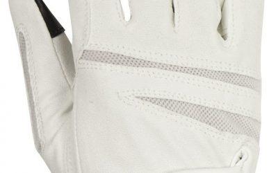 Rękawiczki Horsenjoy Ascott białe rozmiar M HS