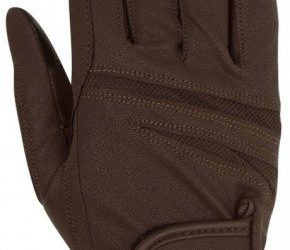 Rękawiczki Horsenjoy Ascott brązowe rozmiar M HS
