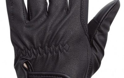 Rękawiczki Horsenjoy Astoria czarne rozmiar S HS