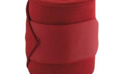 Owijki polarowo-elastyczne York czerwone